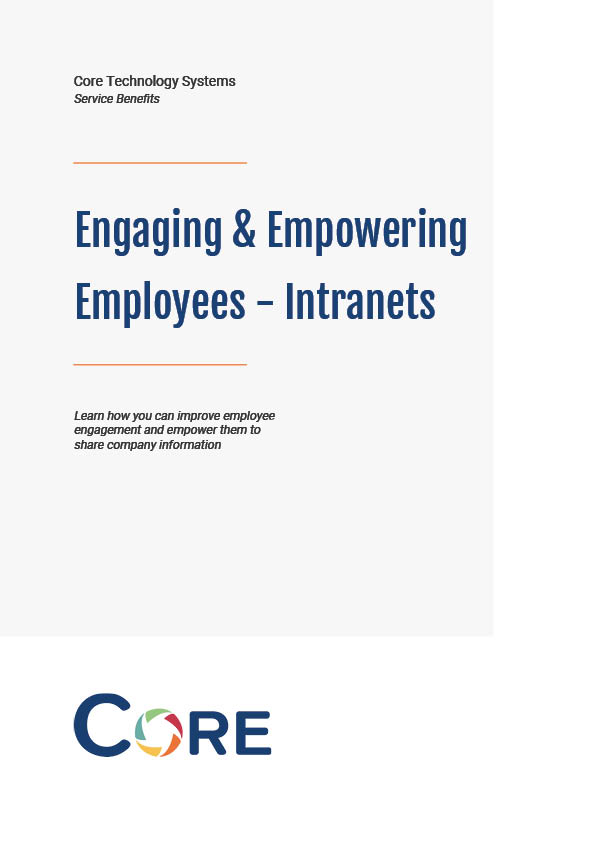 Front page of intranets white paper on engaging employees