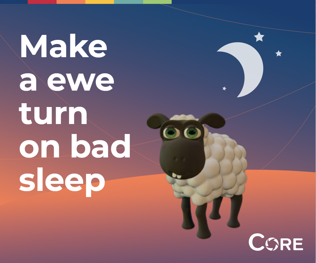 Make a ewe turn on bad sleep