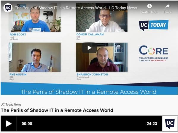 Shadow IT UC Today TV