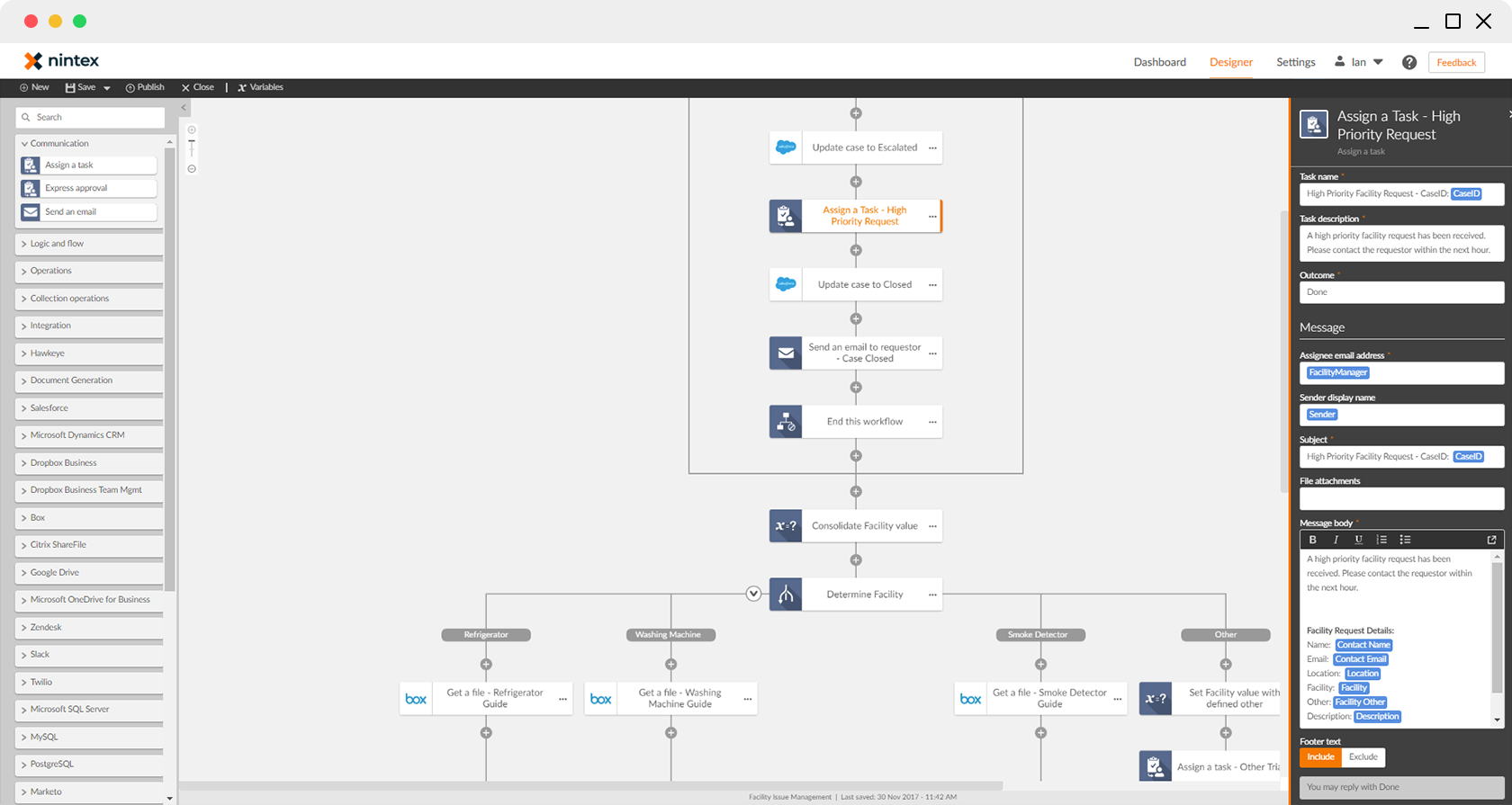 Nintex Advanced Workflow